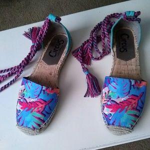 Sam Eldeman Circus espadrille sandal
